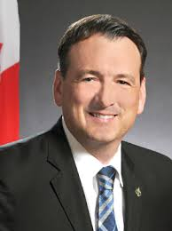 Photo of The Honourable Greg Rickford, Canada's Minister of Natural Resources