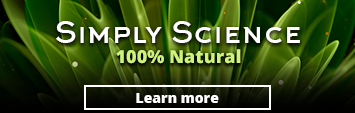 Simply Science, 100 percent natural. Learn more
