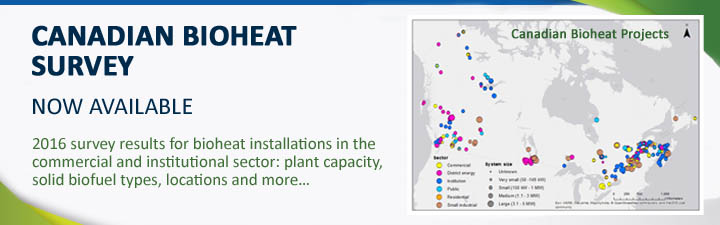 Canada Bioheat Survey. Now available in Canada.