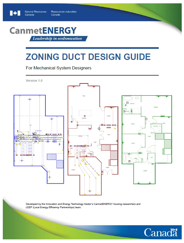 Zoning Duct Design Guide