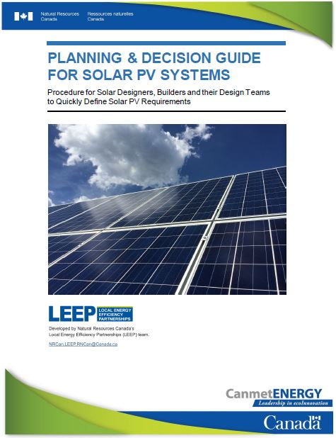 Planning and Decision Guide for Solar PV systems