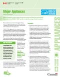 MAJOR APPLIANCES (FACT SHEET) (MAX 20) UPDATED JANUARY 2012