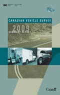 2009 CANADIAN VEHICLE SURVEY SUMMARY REPORT