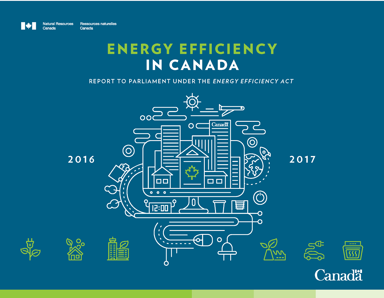 IMPROVING ENERGY PERFORMANCE IN CANADA: REPORT TO PARLIAMENT UNDER THE ENERGY EFFICIENCY ACT, 2016-2017