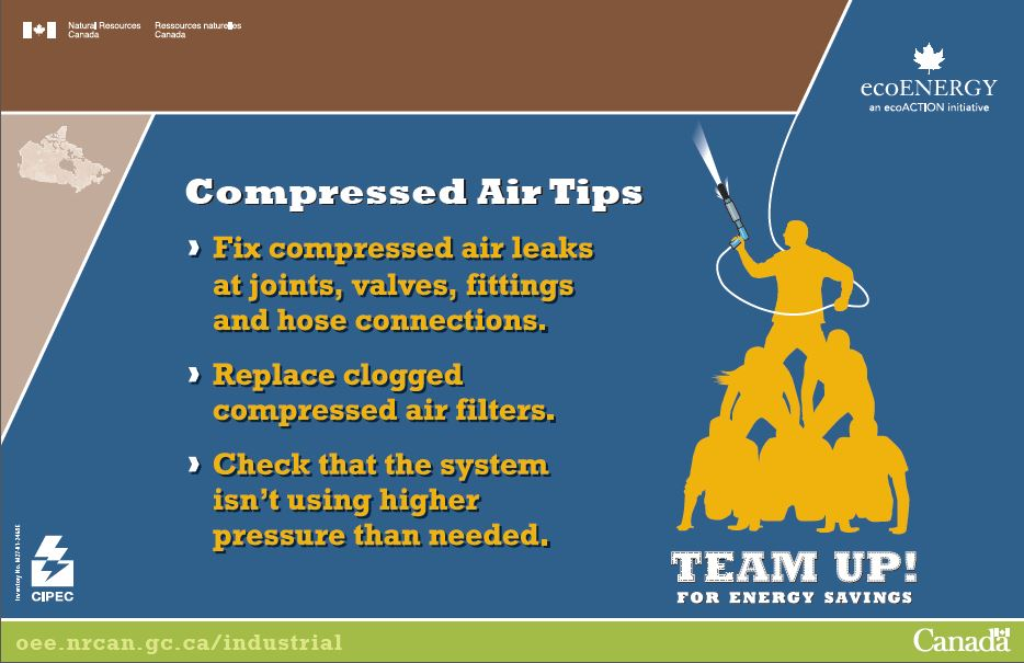 COMPRESSED AIR TIPS (POSTER) (MAX 25)