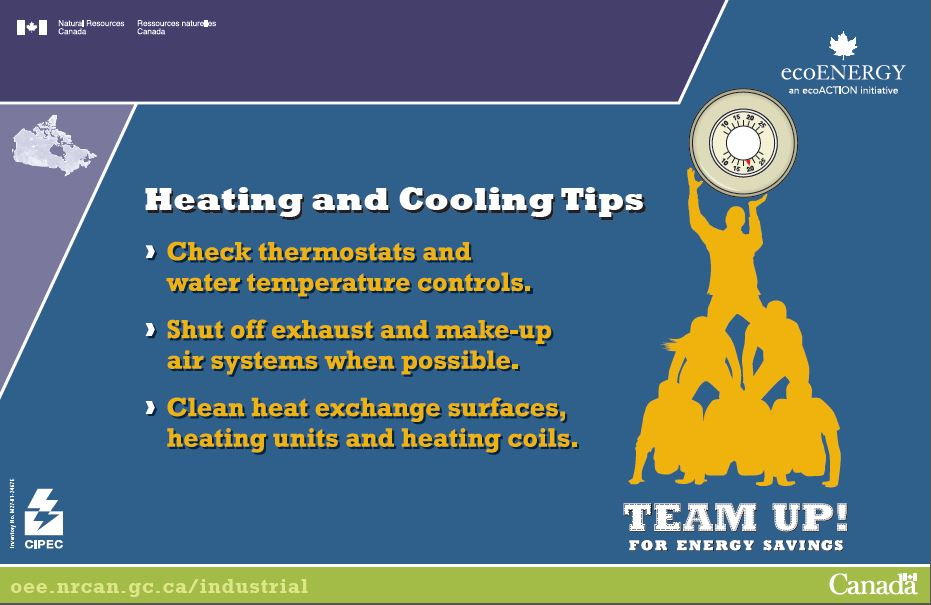 HEATING AND COOLING TIPS (POSTER) (MAX 25)