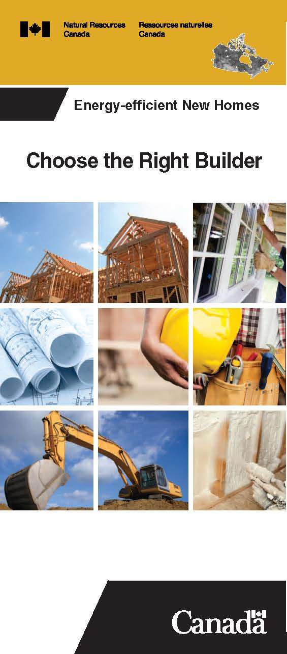 Choose the Right Builder Brochure cover