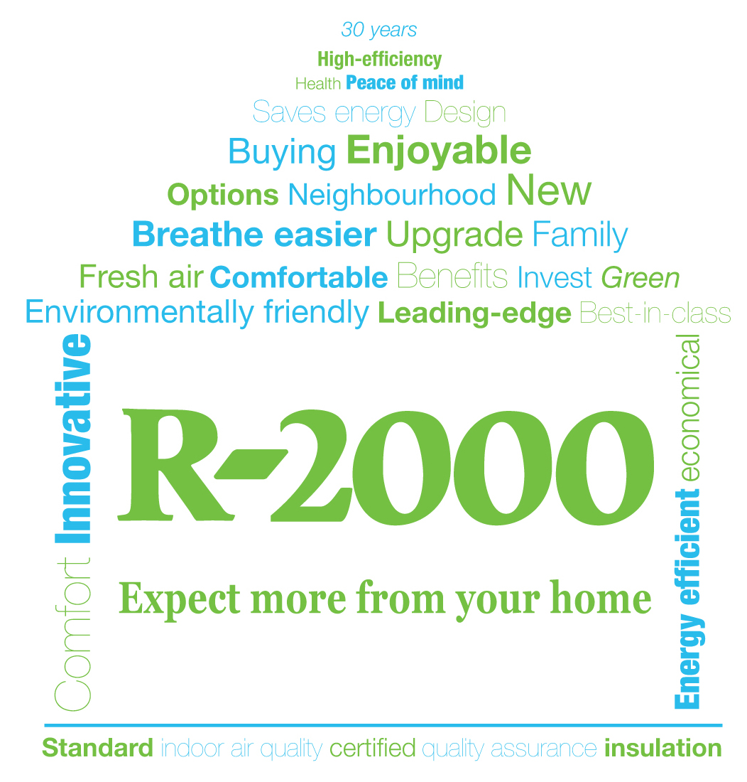 ENERGY EFFICIENT NEW HOMES R 2000 EXPECT MORE FROM YOUR HOME