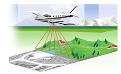 Aerial sensing. Image: Murray Woods, Ontario Ministry of Natural Resources