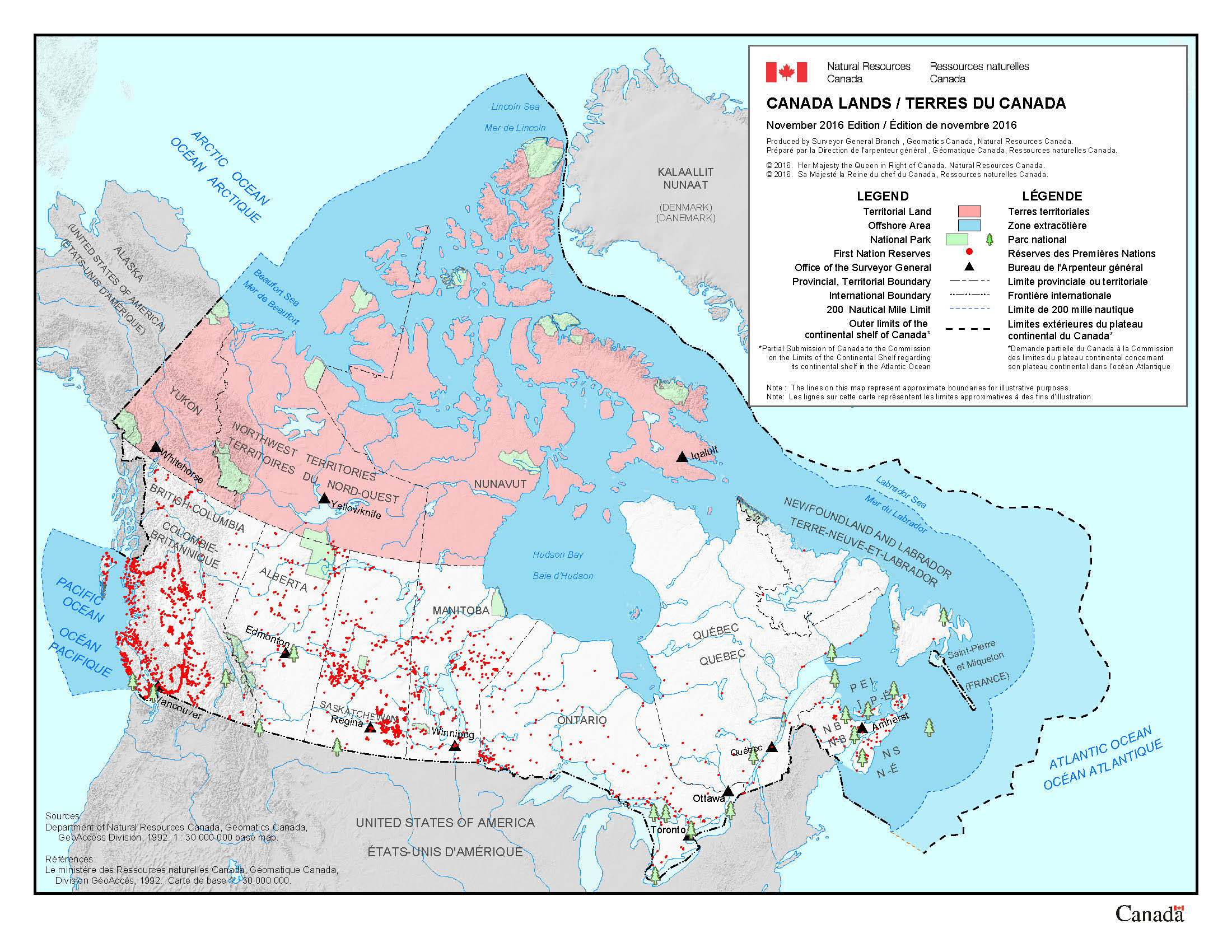 About Canada Lands Natural Resources Canada