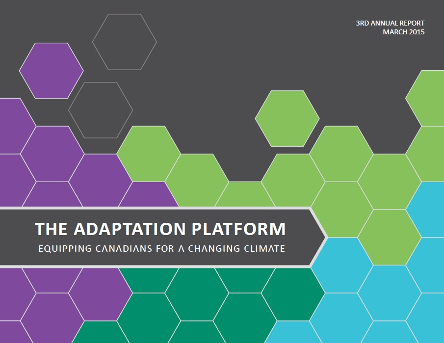 cover of 2015 Adaptation Platform Annual Report