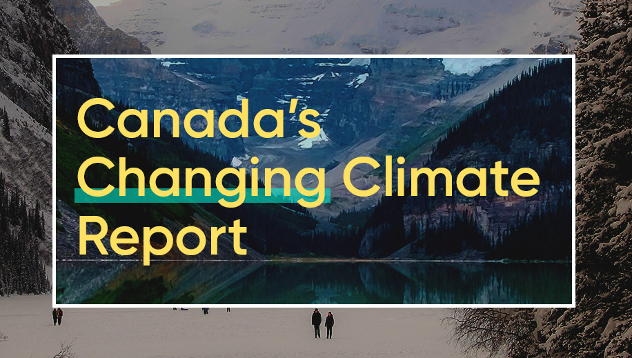 cover for Canada's Changing Climate Report (2019)