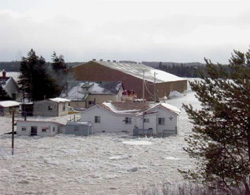 FIGURE 22: Ice jam-induced flooding, Badger, NL. Photo courtesy of Brian Hawel.