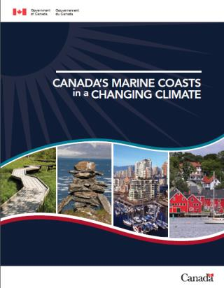 cover of report: Canada's Marine Coasts in a Changing Climate