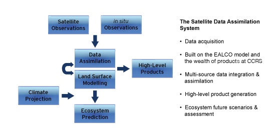 The Satellite Data Assimilation System