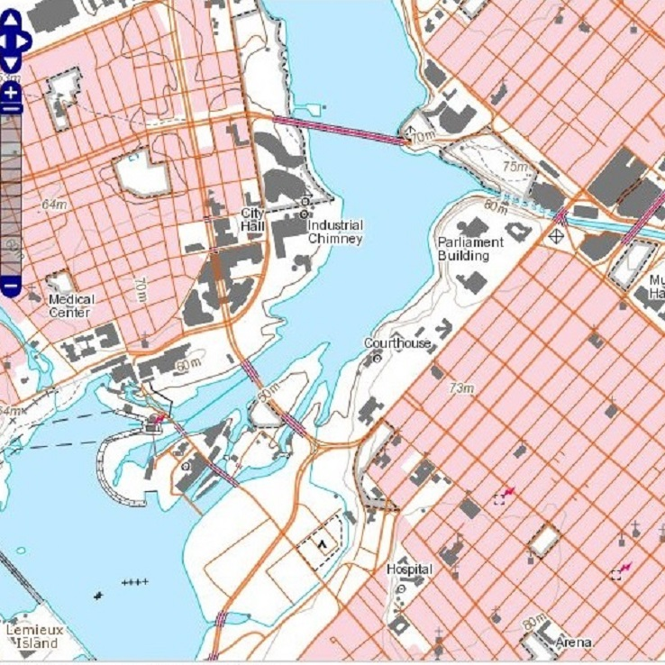 Free Data GeoGratis Natural Resources Canada - Us natural resources map for kids