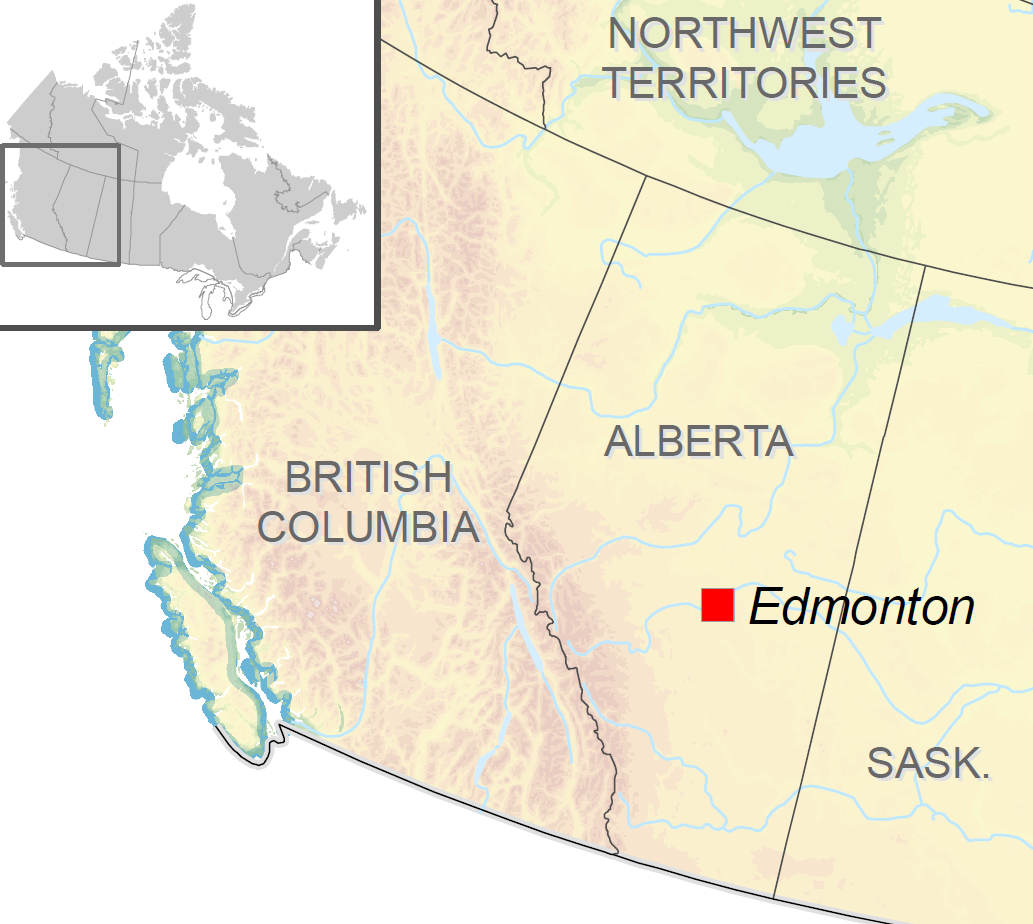 Edmonton Map Of Canada.Edmonton S Urban Forest Management Plan Natural Resources Canada