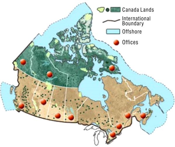 Map Of Canada Kids.Surveyor General Branch Offices Natural Resources Canada