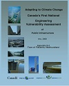 Cover page case study, titled, Vulnerability of Sandy Point STP - Upgrade to Climate Change