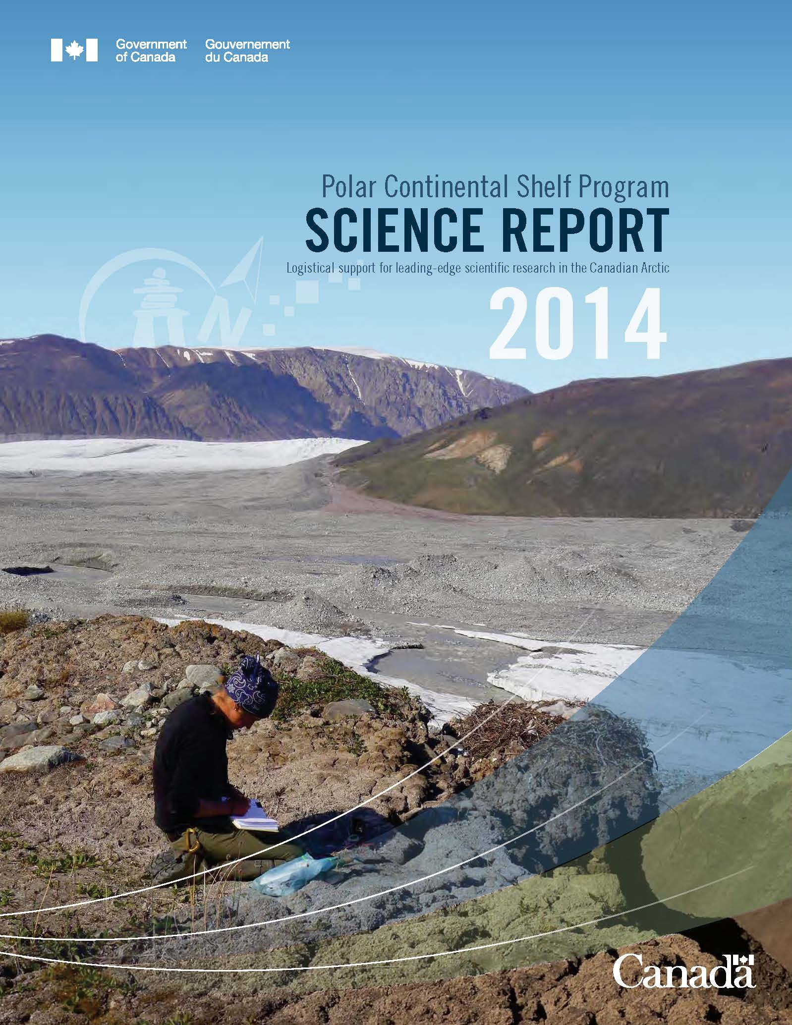 Cover of the 2014 PCSP Science Report