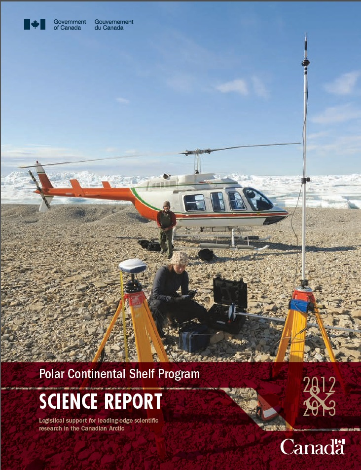 Cover of the PCSP 2012 & 2013 Annual Science Report
