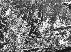 SAR image of Bogota, Colombia