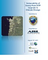 Cover page of case study, titled, Vulnerability of Shelburne Sewage Treatment