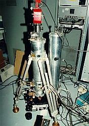 Setup of JILA-2 gravimeter in a laboratory setting