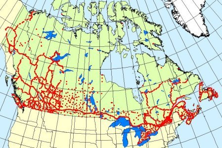 100 Years Of Geodetic Surveys In Canada Natural Resources Canada - Us-geodetic-maps