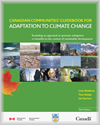 Cover page of the guide, titled, Canadian Communities' Guidebook for Adaptation to Climate Change