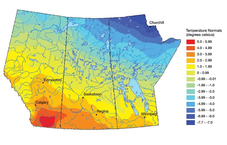 Introduction prairies natural resources canada for Soil zones of alberta