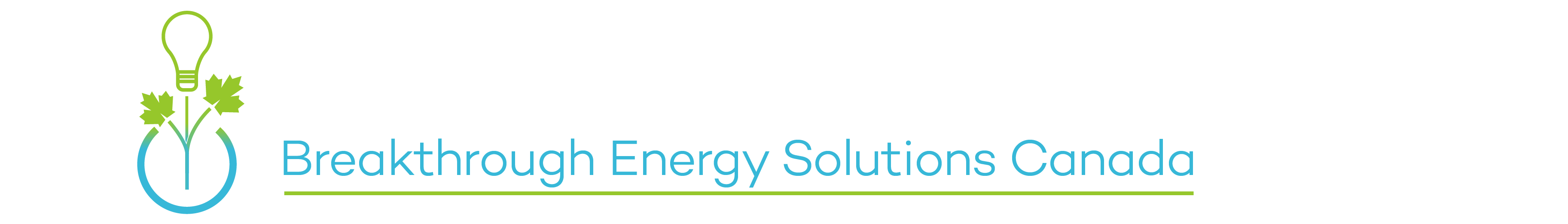 Breakthrough Energy Solutions Canada banner
