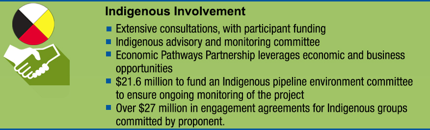 Infographic: Indigenous Involvement
