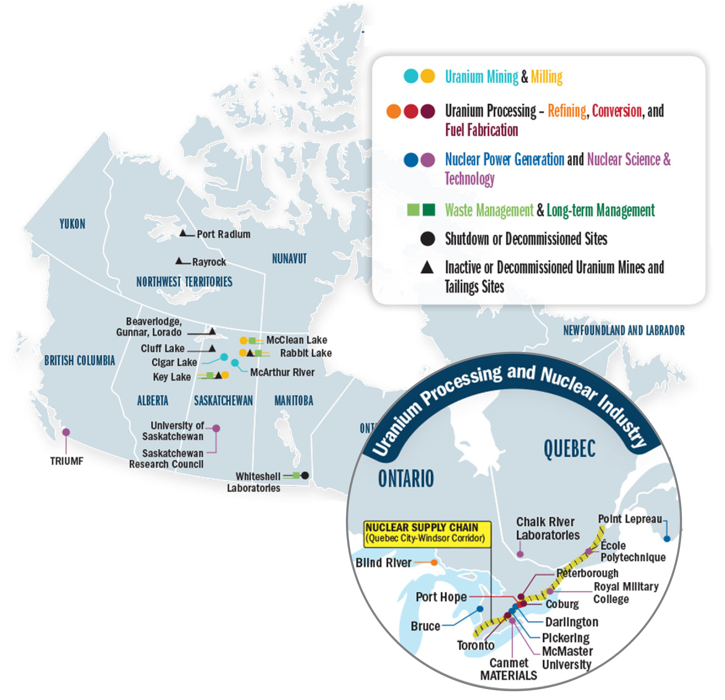 Uranium and nuclear power facts | Natural Resources Canada