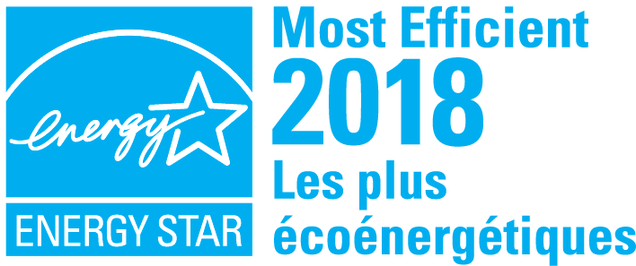 ENERGY STAR Most Efficient, 2018, Les plus écoénergétiques