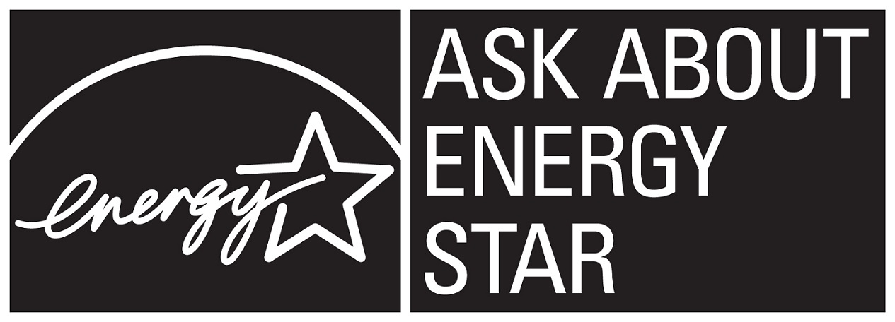 Ask about ENERGY STAR – black, horizontal versionl