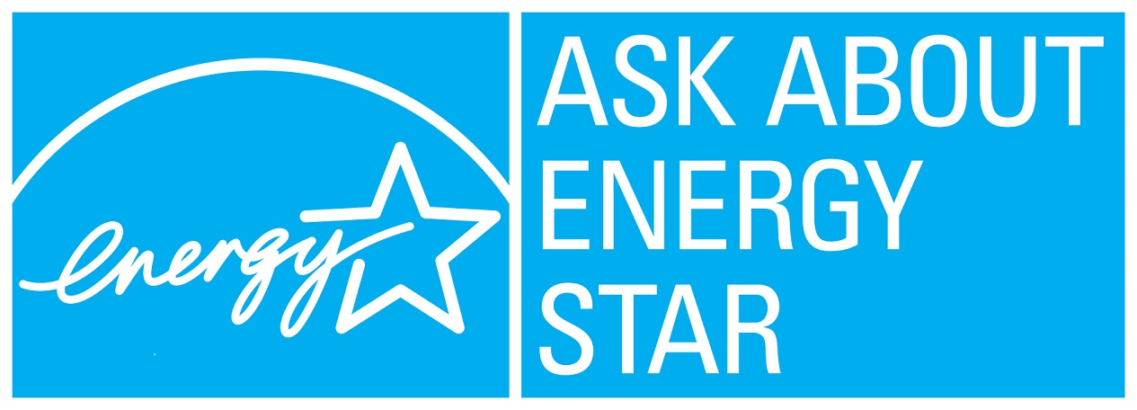 Ask about ENERGY STAR – cyan, horizontal version