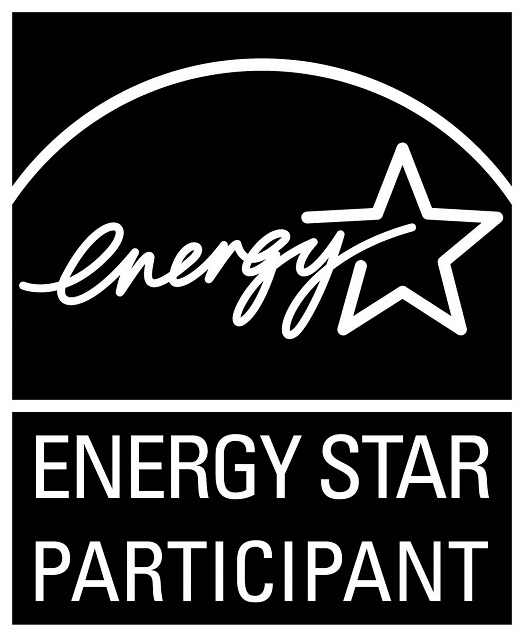 ENERGY STAR PARTICIPANT, vertical black symbol