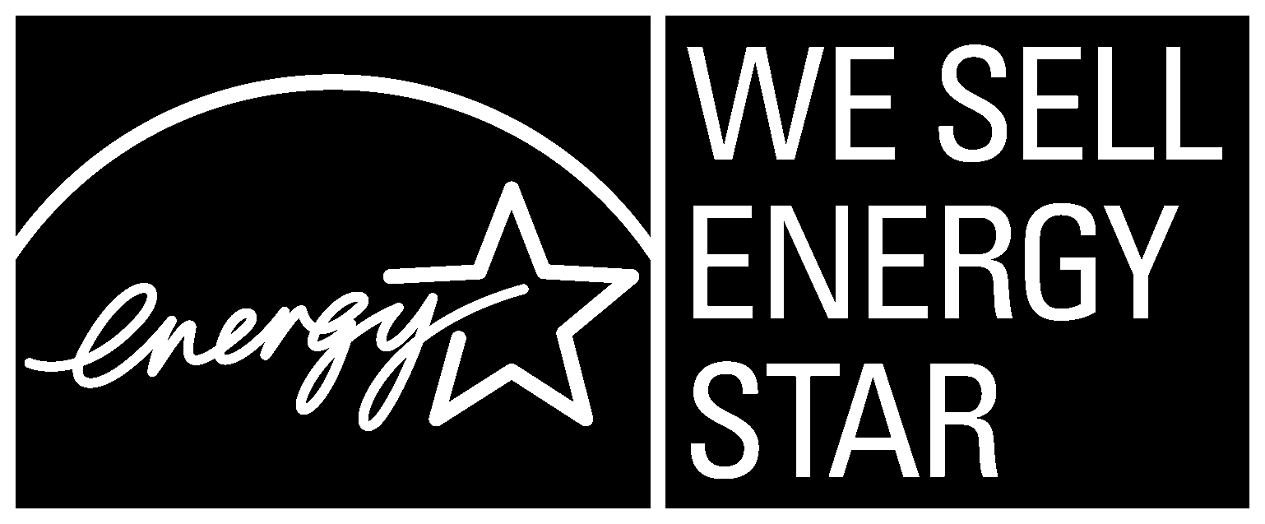 WE SELL ENERGY STAR, horizontal black symbol