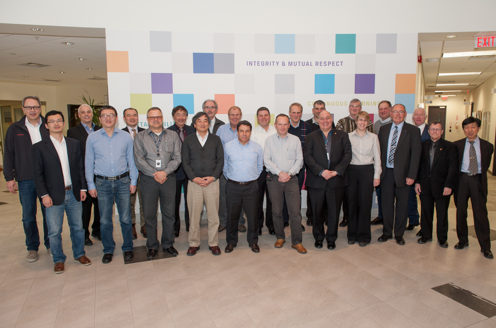Members represent the IEC SC23H (Plugs, Socket-outlets and Couplers for industrial and similar applications) committee who met February 2016 in Toronto, Ontario to continue their efforts developing international requirements for EV plugs, sockets, and couplers.