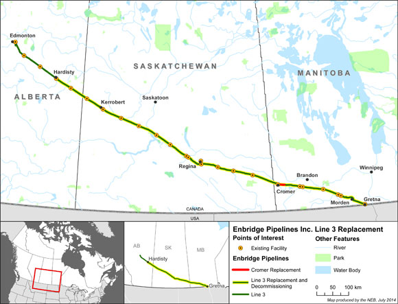 Enbridge Pipelines Inc. Line 3 Replacement