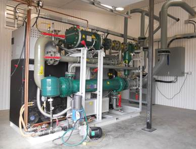 Photo depicting GE Heat Recovery Solutions Clean Cycle 125 installed