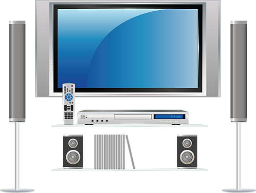 Home theatre-in-a-box systems