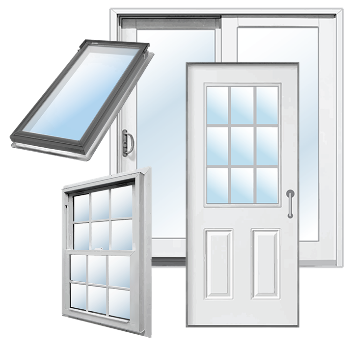 Windows, doors and skylights
