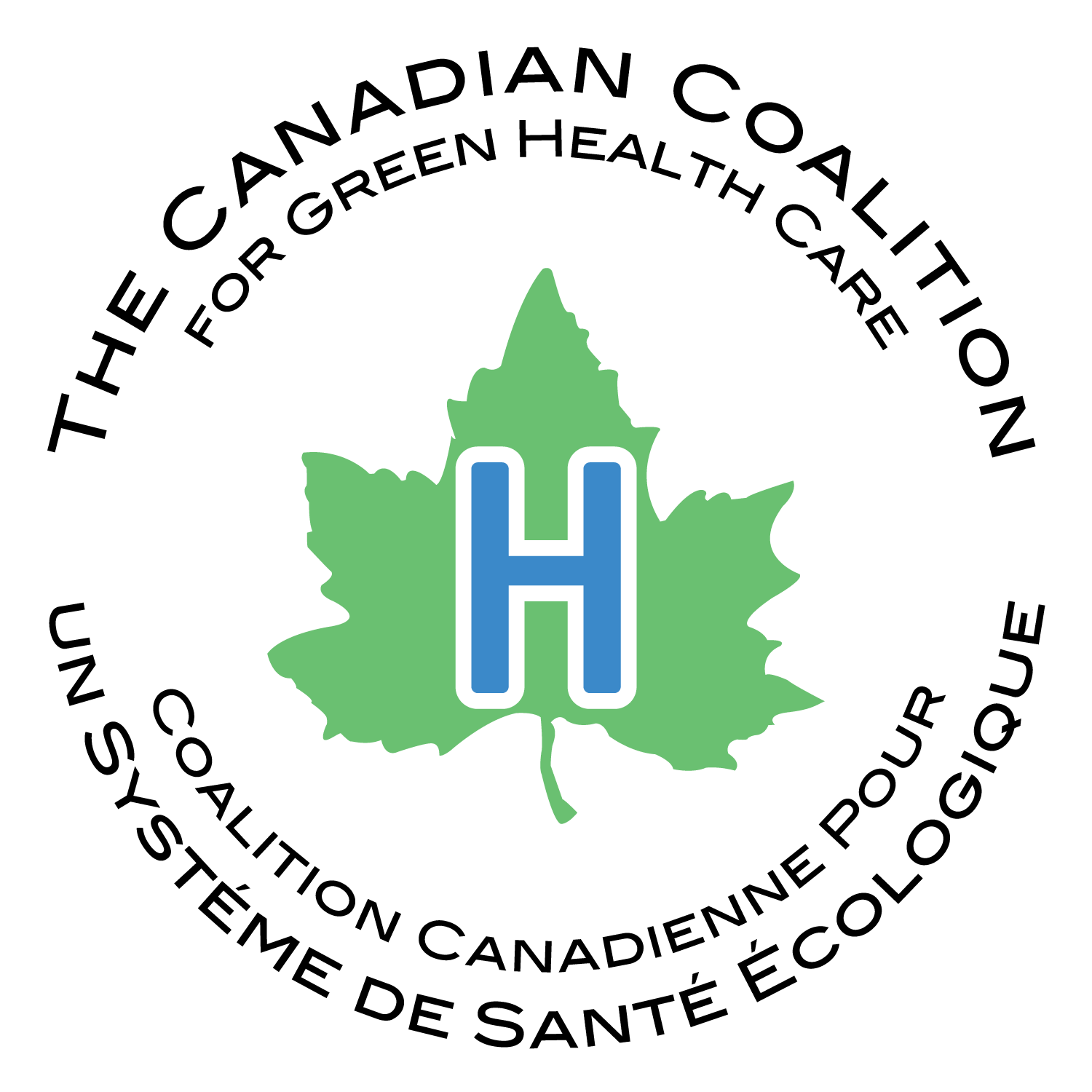 Logo for Canadian Coalition for Green Health Care