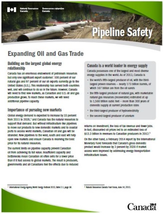 Expanding Oil and Gas Trade