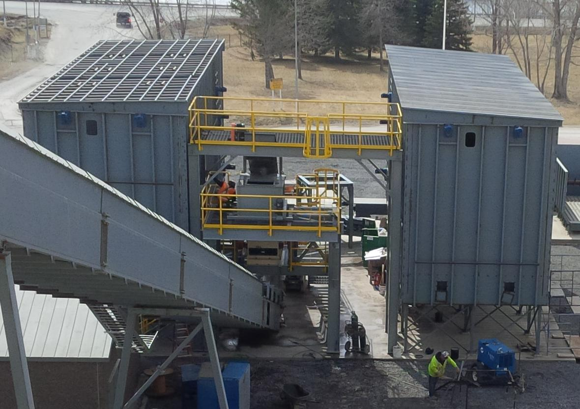 Pilot Demonstration Facility Nears Completion