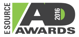 E SOURCE AD AWARDS 2016 logo