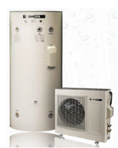 A CO2 heat pump water heater