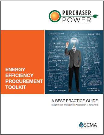 Cover of best practices guide Purchaser Power: Energy Efficiency Procurement Toolkit